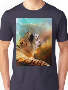 Tiger and Space Unisex T-Shirt