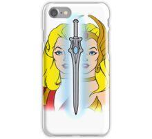 She-Ra Princess of Power - Adora/She-Ra/Sword - Color iPhone Case/Skin