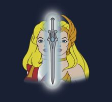 She-Ra Princess of Power - Adora/She-Ra/Sword - Color Kids Tee