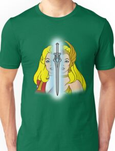 She-Ra Princess of Power - Adora/She-Ra/Sword - Color Unisex T-Shirt