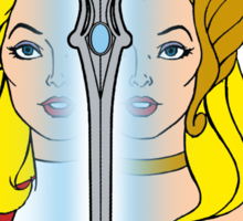 She-Ra Princess of Power - Adora/She-Ra/Sword - Color Sticker