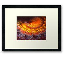 Energy storm Framed Print