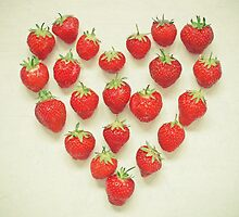 I Love Strawberries by Cassia