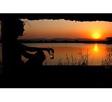 The ultimate sundowner Photographic Print