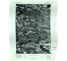 Maine USGS Historical Map Heald Pond 806758 1977 24000 Poster