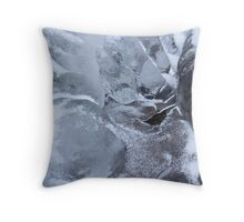 Icy Creek Forms, Pocono Mts. Throw Pillow