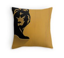 Boston Bruins Minimalist Print Throw Pillow