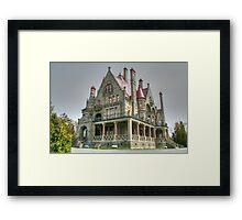 CraigDarroch Castle, Victoria, BC, Canada Framed Print