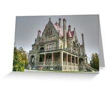 CraigDarroch Castle, Victoria, BC, Canada Greeting Card