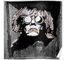 WARHOL on wood Poster