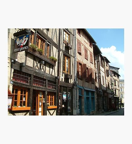 Limoges Old Town Photographic Print