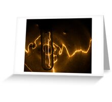 Trolley Light Greeting Card