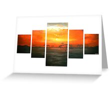 Serengeti Sunset Greeting Card