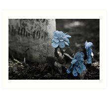 Wolcott Cemetery Art Print