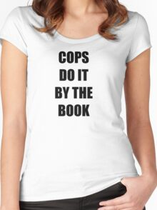 Halloween 4 - Cops do it by the book Women's Fitted Scoop T-Shirt