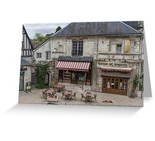 Looking Down on Langeais, France Greeting Card