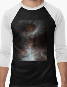 Black Galaxy Men's Baseball ¾ T-Shirt