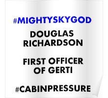 Mighty Sky God Poster