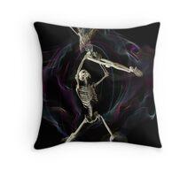 Baile de los Muertos 5 Throw Pillow