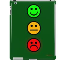 Smiley Traffic Lights - Green For Go iPad Case/Skin