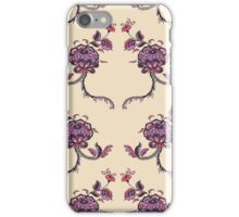 Elegance Seamless pattern with flowers ornament iPhone Case/Skin