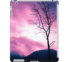 Into the Pink & Purple Sky - JUSTART © iPad Case/Skin