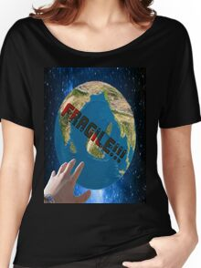 the fragile planet Women's Relaxed Fit T-Shirt