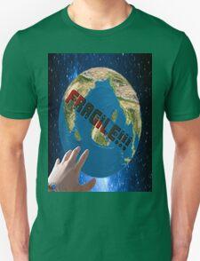 the fragile planet Unisex T-Shirt