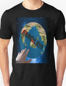 the fragile planet Unisex T-Shirt