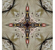 The Traditional Winds - The Compass Rose  Photographic Print