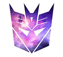 Decepticon Galaxy Insignia Photographic Print