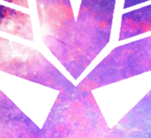 Decepticon Galaxy Insignia Sticker