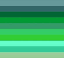 Horizontal Stripes by xorbah