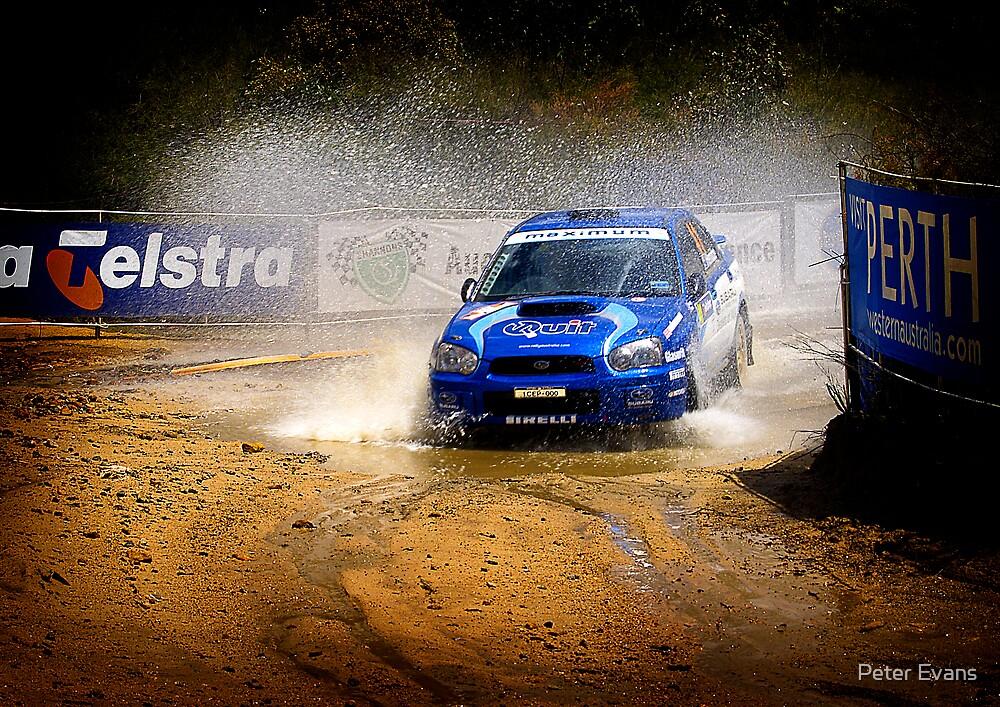 Splashy Subaru #01 by Peter Evans