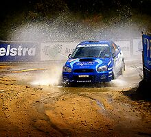 Splashy Subaru #01 by Peter Evans