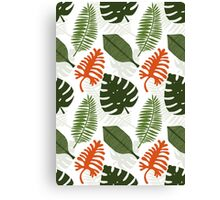 The Adventure in the Tropical Jungle Canvas Print