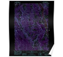 Maine USGS Historical Map Hinckley 105212 1982 24000 Inversion Poster
