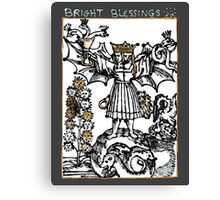 Bright Blessings Canvas Print