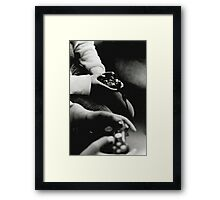Four Thumbs Framed Print