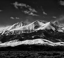 Sierra Blanca Black & White by James Egbert