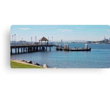 Coronado Pier Panorama Canvas Print