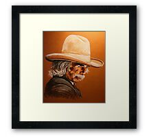 Mr Hornsbee Framed Print