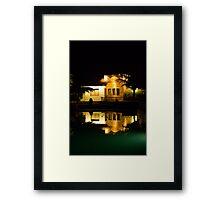 Lake House Framed Print