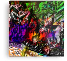 the greight EYE AM Metal Print