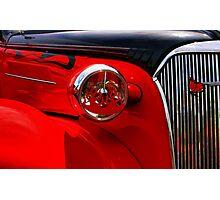 Red Lite Photographic Print