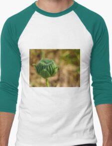Green Men's Baseball ¾ T-Shirt