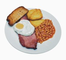 Gammon Egg and Beans Baby Tee