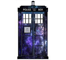 Doctor Who - TARDIS Galaxy Print Photographic Print