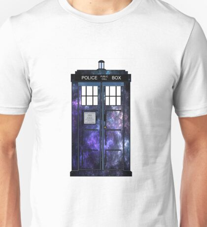 Doctor Who - TARDIS Galaxy Print Unisex T-Shirt
