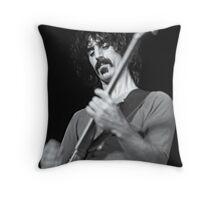 Frank Zappa - Sydney Hordern Pavillion - 1973 Throw Pillow